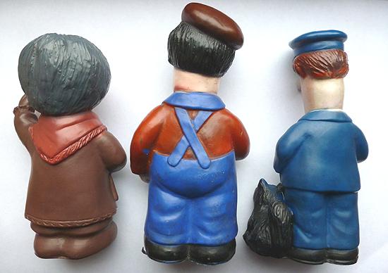 Baron Manufacturing Postman Pat Figures