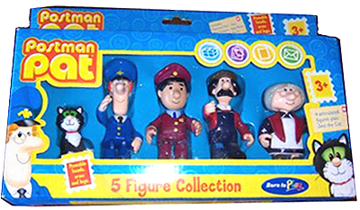 Postman Pat 5 Figure Collection by Born to Play