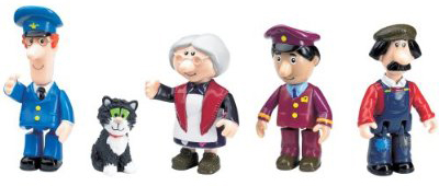 Postman Pat Figures by Born to Play