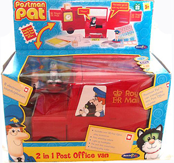 Postman Pat 2 in 1 Post Office Van by Born to Play