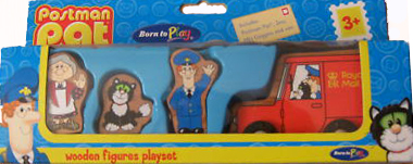 Wooden Figures Playset by Born to Play