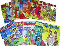 Buttons Magazine featuring Postman Pat