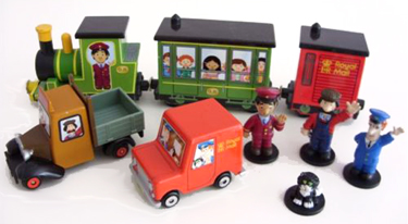 Corgi Postman Pat Toys