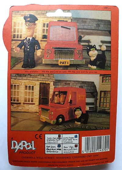 Dapol Postman Figure Cardback