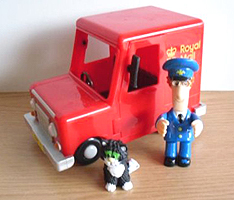 Entertainment Rights ER plc Postman Pat Van