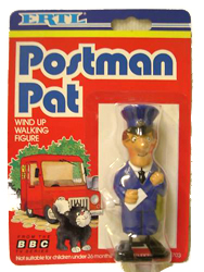 ERTL Wind Up Postman Pat