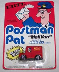 Postman Pat Mail Van by Ertl