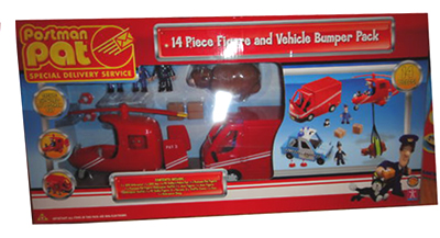 14 Piece Figure and Vehicle Bumper Pack by Character