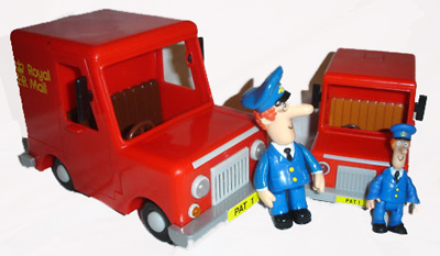 Born to Play Friction and Character Postman Pat Toys