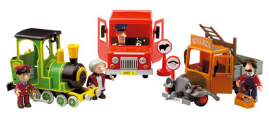 Postman Pat Friction Vehicles by Entertainment Rights