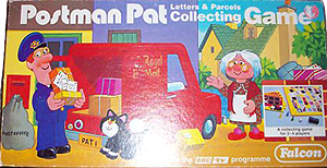 Postman Pat Letters and Parcels Collecting Game by Falcon