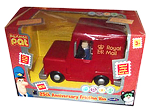 Postman Pat 25th Anniversary Friction Van by Born to Play