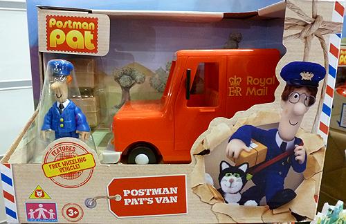 Pat 1 Toy Postman Pat Van