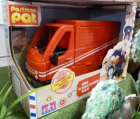 Postman Pat 2 SDS Delivery Van