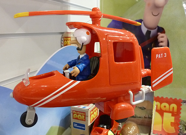 Pat 3 Postman Pat Toy Helicopter