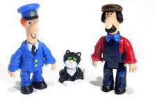 Postman Pat, Jess the Cat and Ted Glen