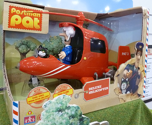 Postman Pat Deluxe Helicopter Pat 3