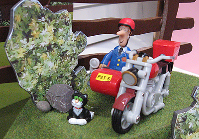 Postman Pat toy Motorbike