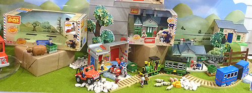 Postman Pat Toy Playsets