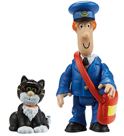 Postman Pat Toy Figures