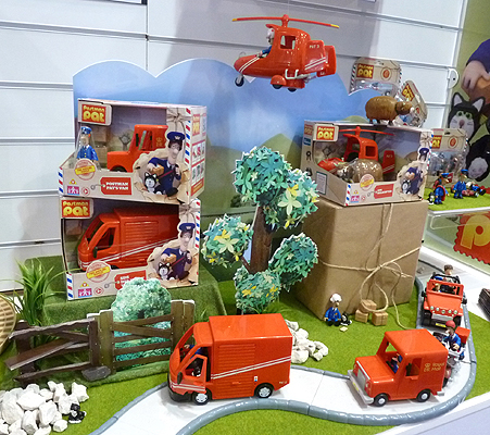 Postman Pat Toy Vehicles