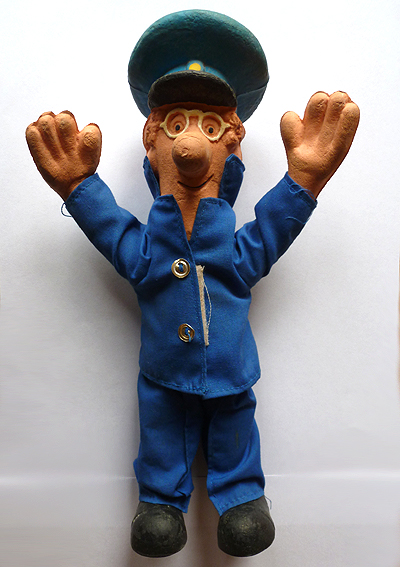 Bendy Toys Postman Pat Figure