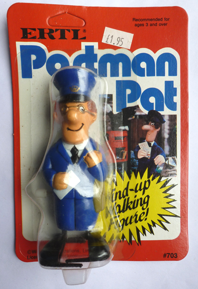 Postman Pat wind up toy by ERTL