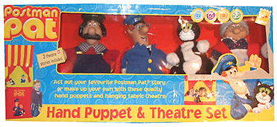Postman Pat Hand Puppet & Theatre Set by Born to Play