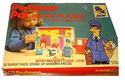 Postman Pat Jigsaw Playset by Michael Stanfield