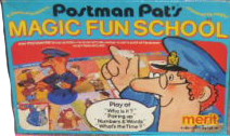 Postman Pat's Magic Fun School by Merit
