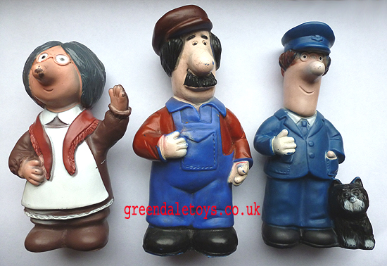 Postman Pat Figures by Baron Manufacturing