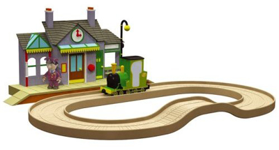 Postman Pat Snap Trax Station Set