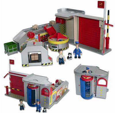Toy Postman Pat Sorting Office Playset