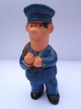 Vintage Postman Pat Figure Woodland Animations 1984